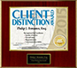 Client Distinction Award - William L. Goldman, Esq.